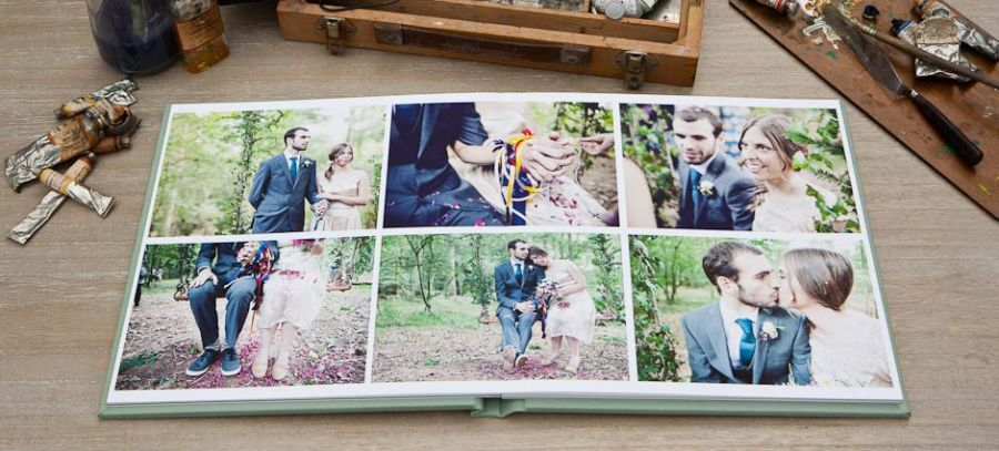 Image taken from the Folio Albums website. Fine art portrait and wedding albums for professional photographers handmade in the UK