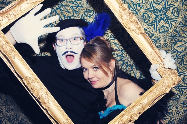 Liberty Pearl Vintage photo booth Une Soiree Inoubliable Charity event Bristol 18