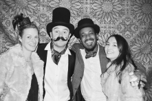 Liberty Pearl Vintage photo booth Une Soiree Inoubliable Charity event Bristol 42