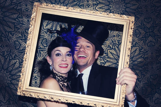 Liberty Pearl Vintage photo booth Une Soiree Inoubliable Charity event Bristol 46