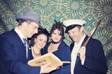 Liberty Pearl Vintage photo booth Une Soiree Inoubliable Charity event Bristol 8