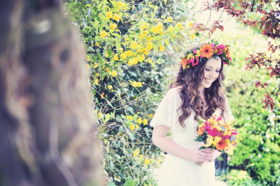 La Belle Styled wedding bridal Photo Shoot The Green Cornwall