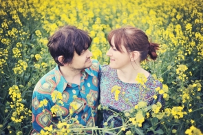 Helen and Roger Engagement Shoot – Brobury Scar Woods, Hereforshire
