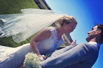 Sophie and Martin wedding The Green Cornwall Devon
