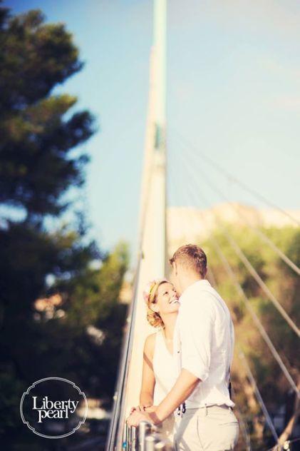 Ibiza wedding honey moon photo shoot