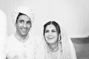 Saira and Iffy London wedding