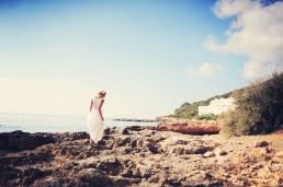 Sophie and Olly honey moon wedding Ibiza destination real bride