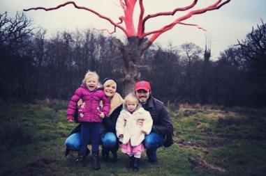 Winter family photo shoot Cornwood Plymouth Devon 27