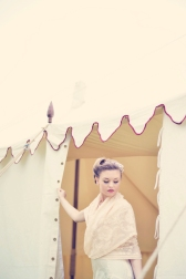 Clovelly House Devon wedding festival styled photo shoot blue fizz events