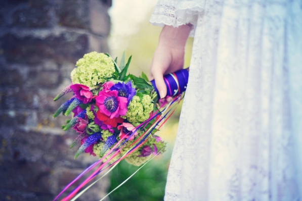 Clovelly House festival styled photo shoot wedding blue fizz events Devon wedding photography