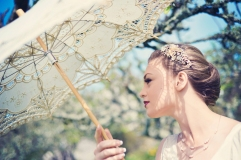 Clovelly House Vintage styled photo shoot wedding blue fizz events Devon wedding photography