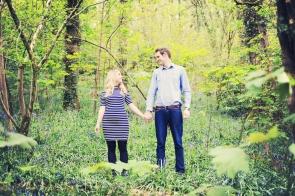 Pre wedding family photo shoot at Cothele cornwall