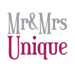 mr and mrs unique logo