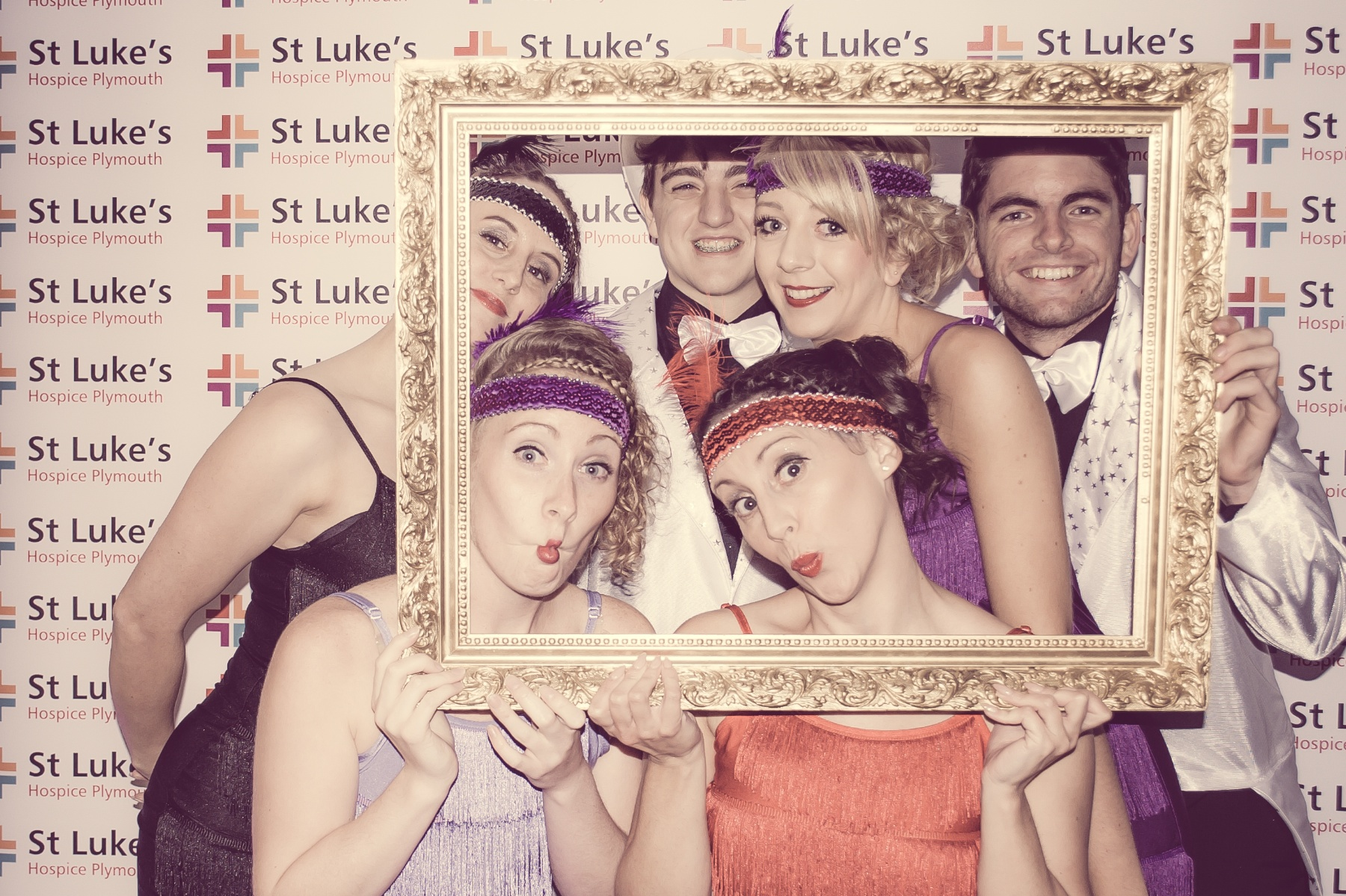 Charity Vintage photo booth - St Luke's Hospice Puttin on The Glitz Plymouth 10