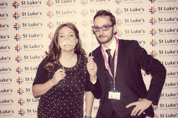 Charity Vintage photo booth - St Luke's Hospice Puttin on The Glitz Plymouth 16