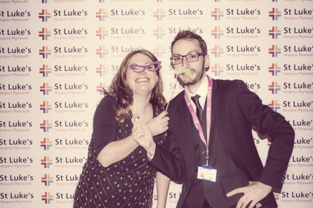 Charity Vintage photo booth - St Luke's Hospice Puttin on The Glitz Plymouth 17