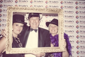 Charity Vintage photo booth - St Luke's Hospice Puttin on The Glitz Plymouth 22