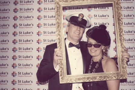 Charity Vintage photo booth - St Luke's Hospice Puttin on The Glitz Plymouth 27