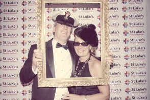Charity Vintage photo booth - St Luke's Hospice Puttin on The Glitz Plymouth 28