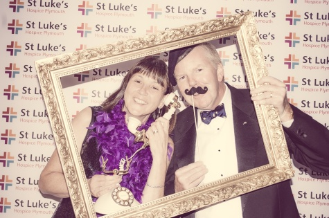 Charity Vintage photo booth - St Luke's Hospice Puttin on The Glitz Plymouth 29