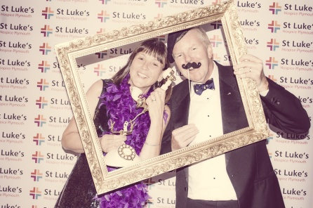 Charity Vintage photo booth - St Luke's Hospice Puttin on The Glitz Plymouth 30
