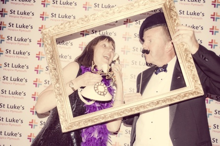 Charity Vintage photo booth - St Luke's Hospice Puttin on The Glitz Plymouth 31