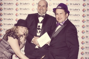 Charity Vintage photo booth - St Luke's Hospice Puttin on The Glitz Plymouth 34