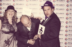 Charity Vintage photo booth - St Luke's Hospice Puttin on The Glitz Plymouth 36