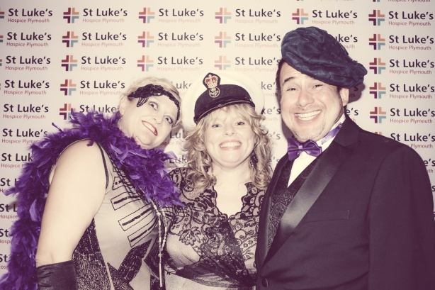Charity Vintage photo booth - St Luke's Hospice Puttin on The Glitz Plymouth 38
