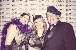 Charity Vintage photo booth - St Luke's Hospice Puttin on The Glitz Plymouth 39