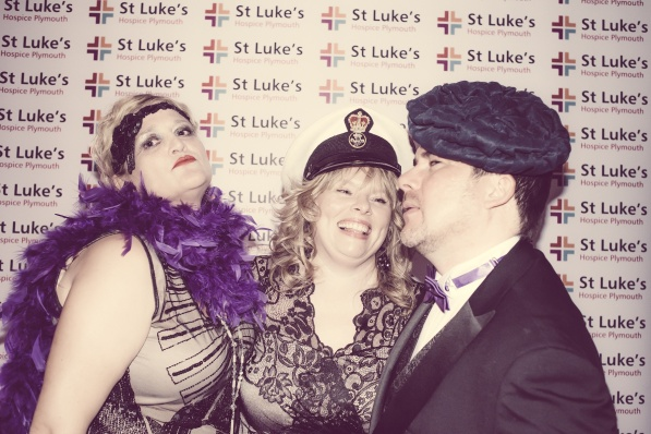 Charity Vintage photo booth - St Luke's Hospice Puttin on The Glitz Plymouth 40
