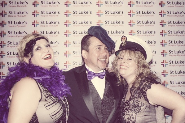 Charity Vintage photo booth - St Luke's Hospice Puttin on The Glitz Plymouth 43