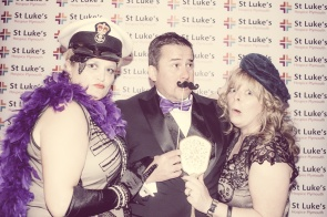 Charity Vintage photo booth - St Luke's Hospice Puttin on The Glitz Plymouth 44