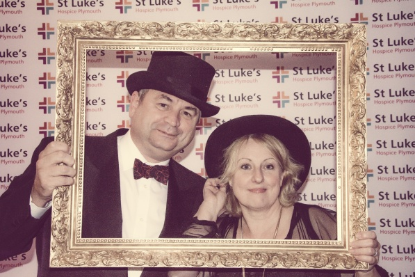 Charity Vintage photo booth - St Luke's Hospice Puttin on The Glitz Plymouth 53