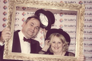 Charity Vintage photo booth - St Luke's Hospice Puttin on The Glitz Plymouth 1