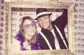 Charity Vintage photo booth - St Luke's Hospice Puttin on The Glitz Plymouth 55