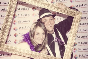 Charity Vintage photo booth - St Luke's Hospice Puttin on The Glitz Plymouth 57