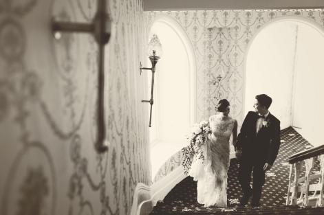 The Duke of Cornwall Hotel Plymouth Vintage styled wedding photography shoot Devon 114