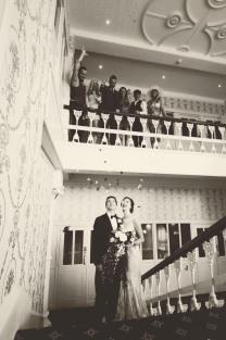 The Duke of Cornwall Hotel Plymouth Vintage styled wedding photography shoot Devon 119