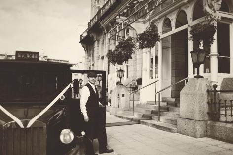 The Duke of Cornwall Hotel Plymouth Vintage styled wedding photography shoot Devon 127