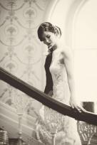 The Duke of Cornwall Hotel Plymouth Vintage styled wedding photography shoot Devon 152