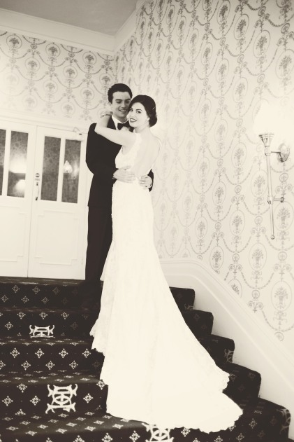 The Duke of Cornwall Hotel Plymouth Vintage styled wedding photography shoot Devon 153