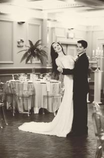 The Duke of Cornwall Hotel Plymouth Vintage styled wedding photography shoot Devon 56