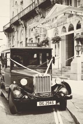 The Duke of Cornwall Hotel Plymouth Vintage styled wedding photography shoot Devon 95