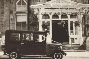 The Duke of Cornwall Hotel Plymouth Vintage styled wedding photography shoot Devon 99