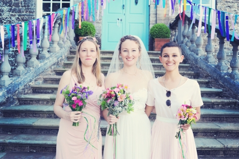 Englich country garden wedding at Kingston Estate Devon photographer 156