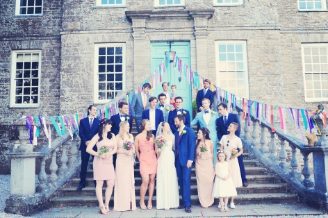 English country garden wedding at Kingston Estate Devon photographer
