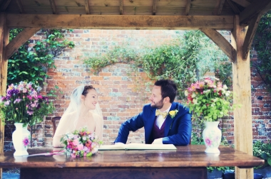 Englich country garden wedding at Kingston Estate Devon photographer 54