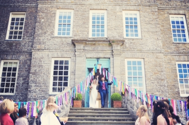 Englich country garden wedding at Kingston Estate Devon photographer 77