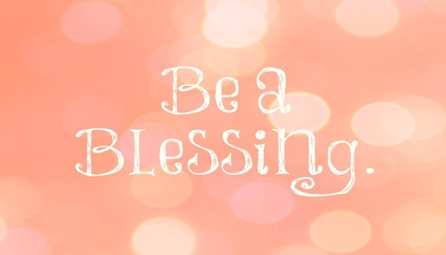 be a blessing pink blush
